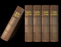 De fem böckerna av Torahen stock illustrationer