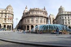 De Ferrari square, Genoa Stock Photo