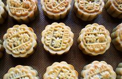 De festival-diy de maancakes van de medio-Herfst Royalty-vrije Stock Afbeelding