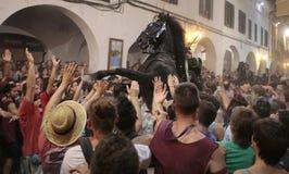 De festiviteit van heilige John in Minorca-eiland wijd Royalty-vrije Stock Fotografie