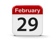 29 de fevereiro Foto de Stock