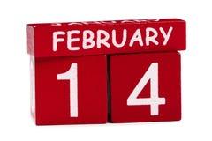 14 de fevereiro Imagem de Stock Royalty Free