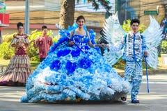27 de fevereiro de 2015 Baguio, Filipinas Baguio Citys Panagbenga F Foto de Stock