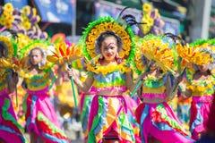 27 de fevereiro de 2015 Baguio, Filipinas Baguio Citys Panagbenga F Imagens de Stock Royalty Free