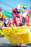 27 de fevereiro de 2015 Baguio, Filipinas Baguio Citys Panagbenga F Fotografia de Stock Royalty Free