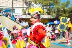 27 de fevereiro de 2015 Baguio, Filipinas Baguio Citys Panagbenga F Foto de Stock Royalty Free