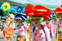 27 de fevereiro de 2015 Baguio, Filipinas Baguio Citys Panagbenga F Imagem de Stock Royalty Free
