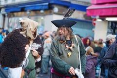 7 DE FEVEREIRO DE 2016 - PARIS: Carnaval tradicional de fevereiro em Paris, França Fotografia de Stock Royalty Free