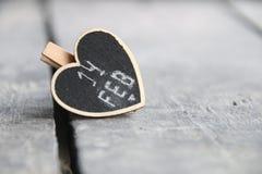 14 de fevereiro - dia de Valentim, foto borrada para o fundo Imagens de Stock Royalty Free