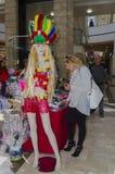 27 de fevereiro, Purim - cerveja-Sheva, Negev, Israel o 27 de fevereiro de 2015 Foto de Stock Royalty Free