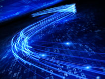 De fibre optique Image libre de droits