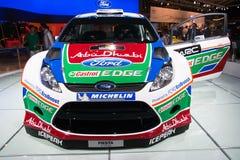 De Fiesta RS WRC van de doorwaadbare plaats Stock Afbeelding