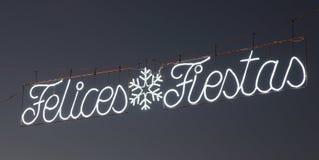 De Fiesta's van Felices - Gelukkige Vakantie royalty-vrije stock foto