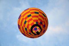 De fiesta van de hete luchtballon Stock Foto