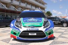 De Fiesta WRC van de doorwaadbare plaats Stock Afbeeldingen