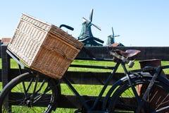 De fiets in Holland Stock Afbeelding