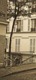 De Fiets Montmartre Stock Foto