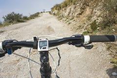 De fiets van de berg Stock Afbeelding