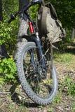 De fiets van de berg stock afbeeldingen
