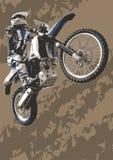 De fiets van de motocross Royalty-vrije Stock Afbeeldingen