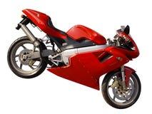 De fiets van de motor Stock Afbeelding