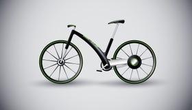 De fiets van het concept voor stedelijk vervoer. product royalty-vrije illustratie