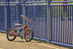 De fiets van het kind royalty-vrije stock afbeeldingen