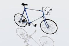 De fiets van het ras Royalty-vrije Illustratie
