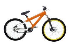 De fiets van Oranje Stock Foto's