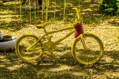 De fietsen van Bmx stock foto's