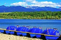 De fietsen van het water Royalty-vrije Stock Foto's