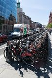De fietsen van Londen royalty-vrije stock fotografie