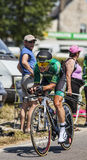 De fietser Cyril Gautier Royalty-vrije Stock Afbeelding
