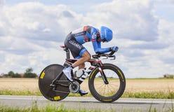 De fietser Daniel Martin Royalty-vrije Stock Afbeeldingen