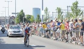 De Fietser Jarlinson Pantano Gomez - Ronde van Frankrijk 2015 Stock Foto's