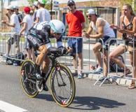 De Fietser Mark Renshaw - Ronde van Frankrijk 2015 Stock Afbeeldingen