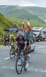 De Fietser Michal Kwiatkowski - Ronde van Frankrijk 2014 Royalty-vrije Stock Foto's