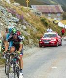 De Fietser Pierrick Fedrigo - Ronde van Frankrijk 2015 Royalty-vrije Stock Afbeelding