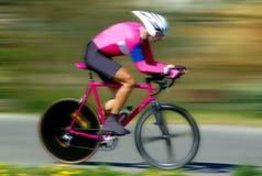 De fietser van de weg Stock Foto