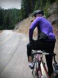 De fietser van de weg Stock Foto's
