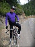 De fietser van de weg royalty-vrije stock fotografie