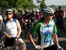 De fietsers rennen Royalty-vrije Stock Afbeelding