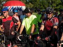 De fietsers rennen Royalty-vrije Stock Foto