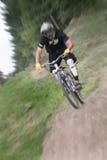 De fietsgezoem van de berg royalty-vrije stock foto's