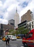 De fietskoerier van New York royalty-vrije stock foto