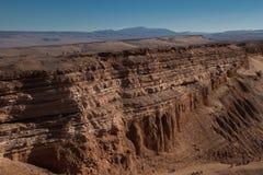 De fietsrit van de Atacamawoestijn Stock Afbeelding