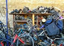 De fietsworkshop Stock Afbeelding