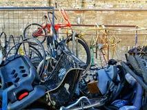 De fietsworkshop Royalty-vrije Stock Foto's