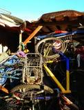 De fietsworkshop Royalty-vrije Stock Afbeelding