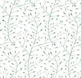 De fijne Bloemenachtergrond van het Ornament Naadloze Patroon Stock Fotografie